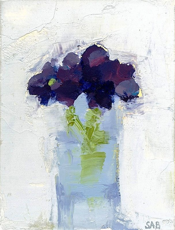 ❀ Blooming Brushwork ❀ garden and still life flower paintings - Stanley Bielen