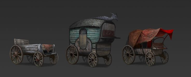 Cart concept, Nicolas Sitbon on ArtStation at https://www.artstation.com/artwork/qb9ne