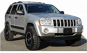 RKWK35XF - Rock Krawler - 3.5 Inch X Factor System Lift Kit For 2005-08 Jeep Grand Cherokee : Tellico 4x4