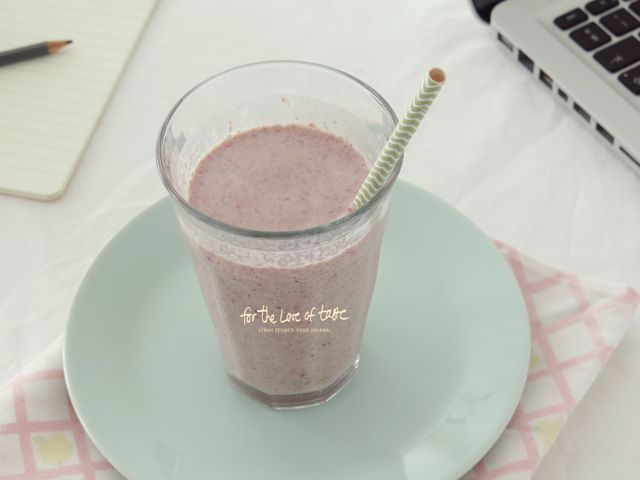 raw vegan vanilla cranberry bliss milkshake recipe