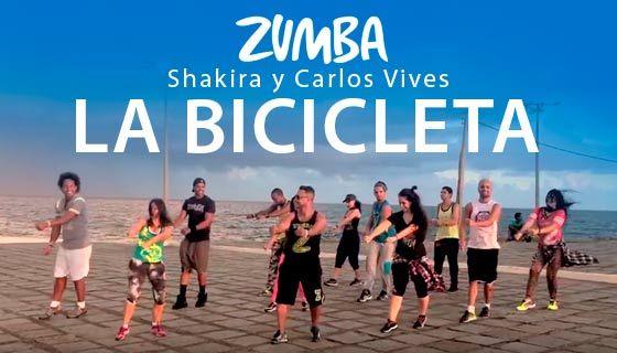 Aprende a bailar el hit de moda: La bicicleta Zumba coreografía. Esta canción está sonando este verano en las clases de Zumba de todo el mundo... ¿Bailamos?