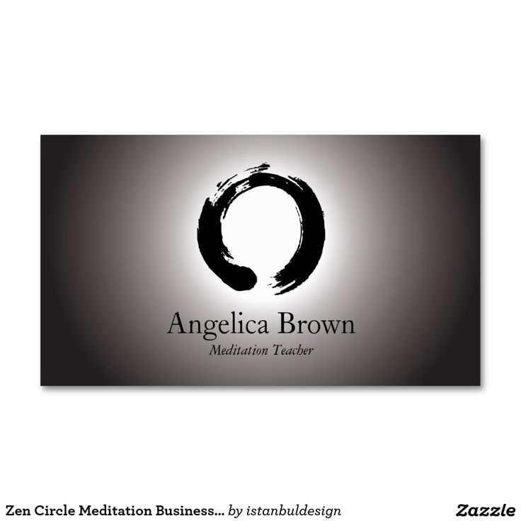 144 best Meditation Business Cards images on Pinterest