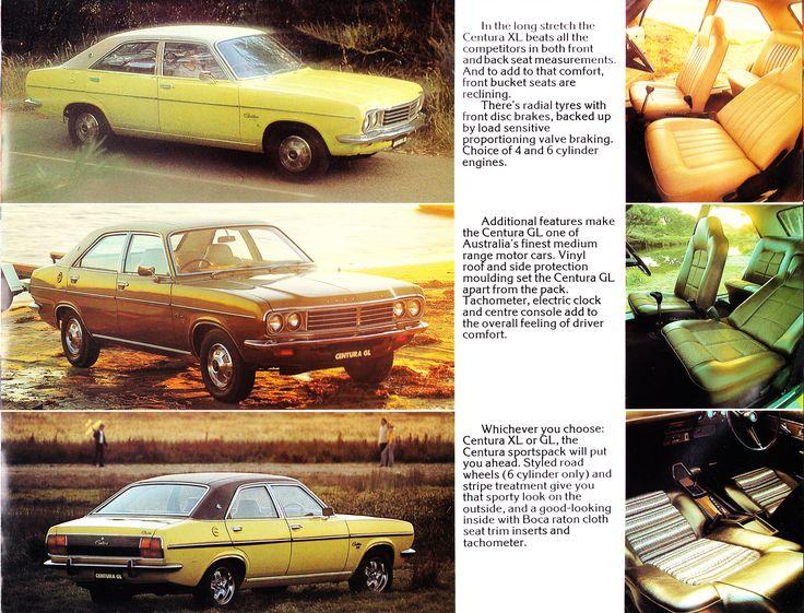 1976 Chrysler Australia Brochure - KB Centura XL, GL & Sports Pack