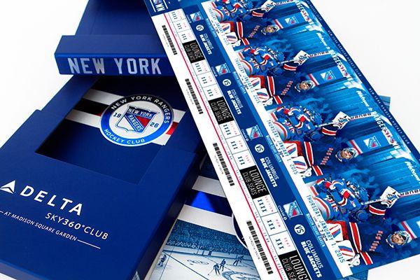 Rangers 2014-15 Season Tickets on Behance
