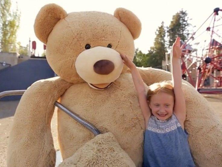 "7.7ft Giant Plush Bear Kids Unisex Boys Girls Toddler Staffed Toys Gift 93"" Tall: $368.23End Date: Dec-20 06:21Buy It Now for… #eBay #Amazon"