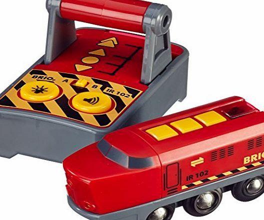 BRIO remote control engine Brio Remote Control Engine (Barcode EAN=7312350332131) http://www.comparestoreprices.co.uk/educational-toys/brio-remote-control-engine.asp