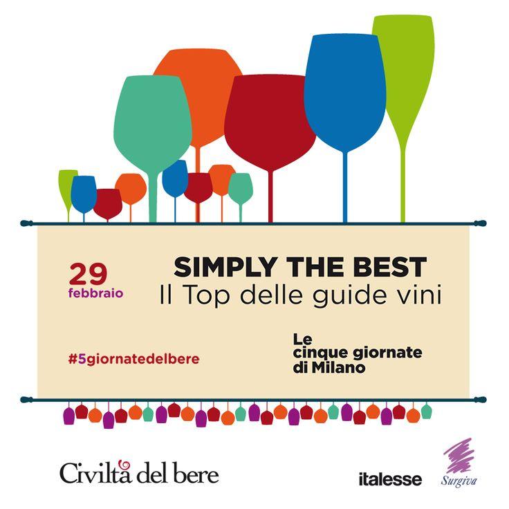 Un'occasione per assaggiare i Top wine del 2016: a Milano vi aspettano le #5giornate del bere