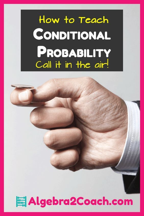 FREEBIE Printables and Excellent Videos! These were great ways to get the students thinking about Conditional Probability. https://algebra2coach.com/conditional-probability-call-it-in-the-air/