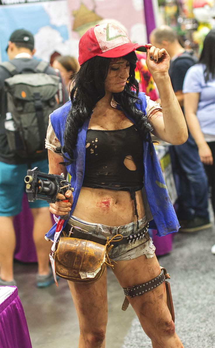 The Most Creative And Sensational Cosplay Of San Diego Comic Con 2015! | Post-apocalyptic Ash Ketchum