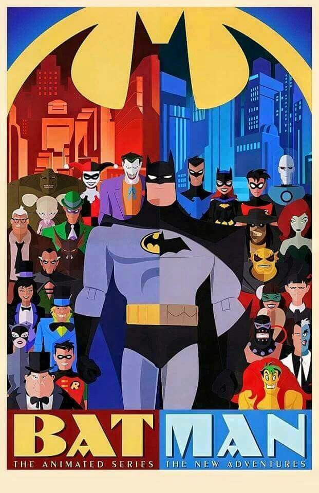 Batman: The Animated Series Poster