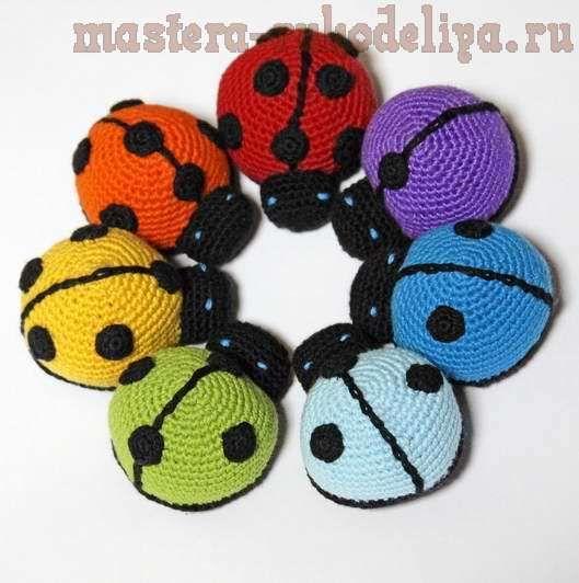 Amigurumi Ladybug : ladybug...free diagram pattern... AMIGURUMI Pinterest ...
