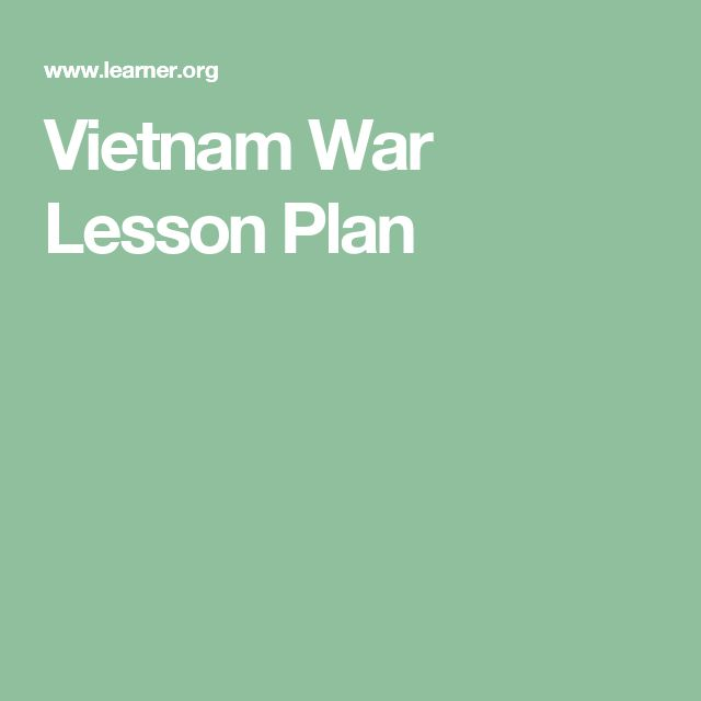 Uncovering the Lessons of Vietnam