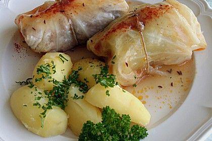 Kohlrouladen (Rezept mit Bild) von igreen | Chefkoch.de Cabbage rolls