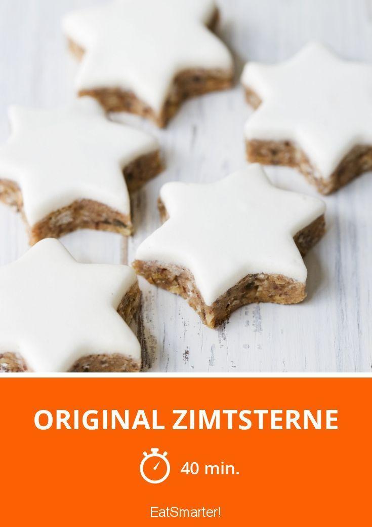 Original Zimtsterne - smarter - Zeit: 40 Min. | eatsmarter.de