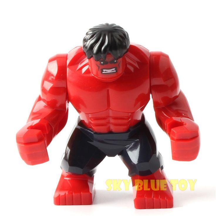 Single Sale Decool Kids Large Minifigures Marvel Superhero Avengers Thanos Hulk Buster Venom Ironman Building Blocks Toys Legoes