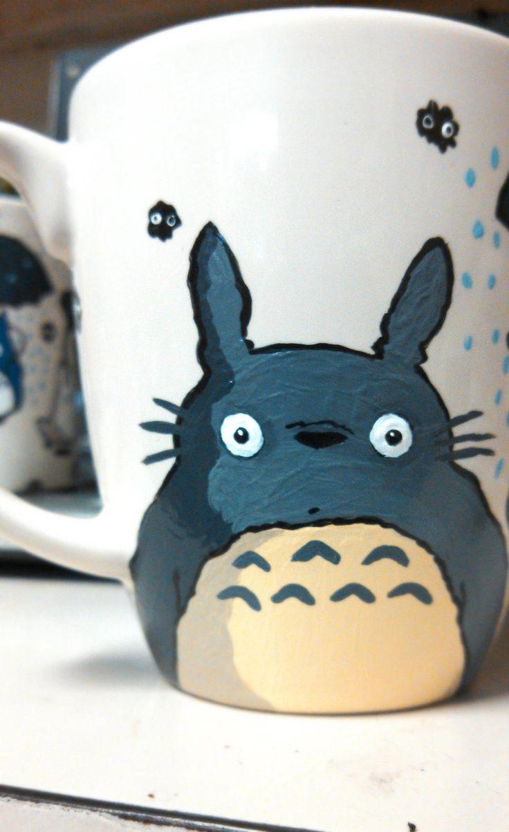 Cute Totoro Mug via Etsy.