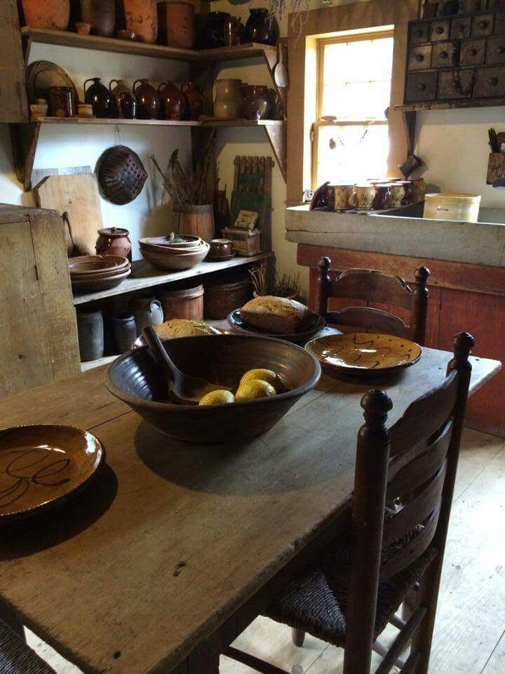 primitive kitchen furniture 362 best images about primitive kitchens on 14638