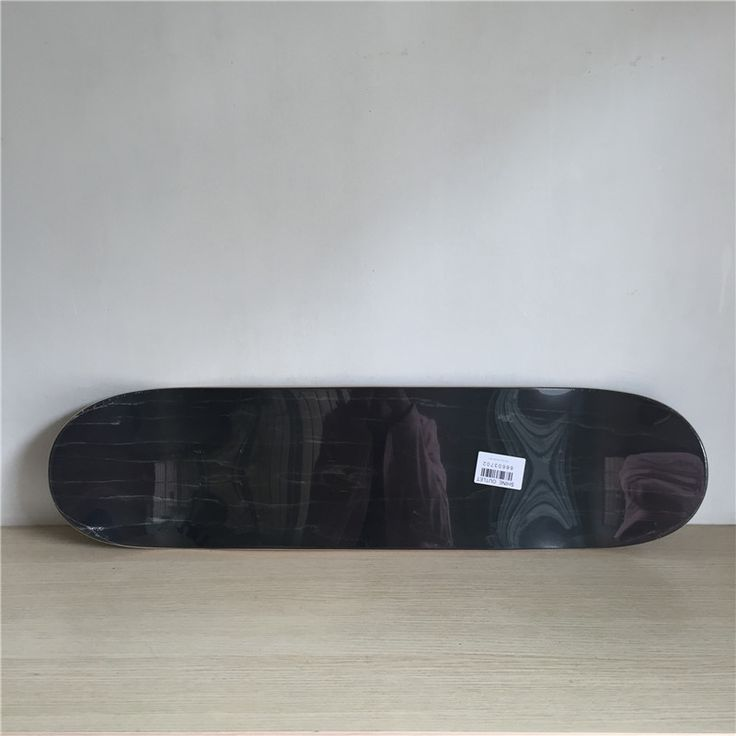 1PC 8.25inch Blank Skateboard Board Black Colored 7 Layers Full Canadian Maple Wooden Decks Skateboard