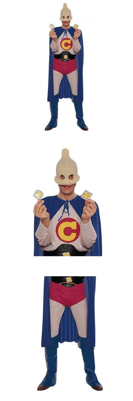Halloween Costumes Men: Captain Condom Costume Halloween Fancy Dress BUY IT NOW ONLY: $33.99