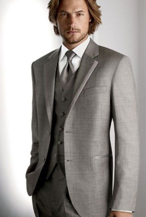 I like the light grey #groomsuit