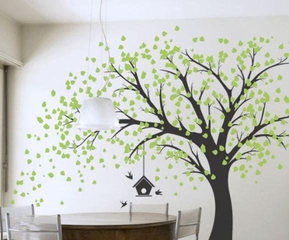 Arboles Para Dibujar En Paredes Murales De Pared Son Una Herramienta Creativa De Decoracion Del Mural Arbol Arboles Pintados En Paredes Decoracion De Muros