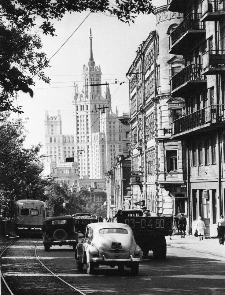 Pokrovskiy Blvd, Moscow, USSR