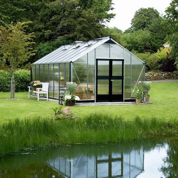 Serre jardinier en aluminium et polycarbonate 6mm juliana maison f - Serre aluminium polycarbonate ...