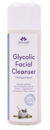 Derma e Glycolic Facial Cleanser with Marine Plant Extracts - Who says you can't have medical grade anti-aging skincare and botanical skincare in one? That's so 1990.