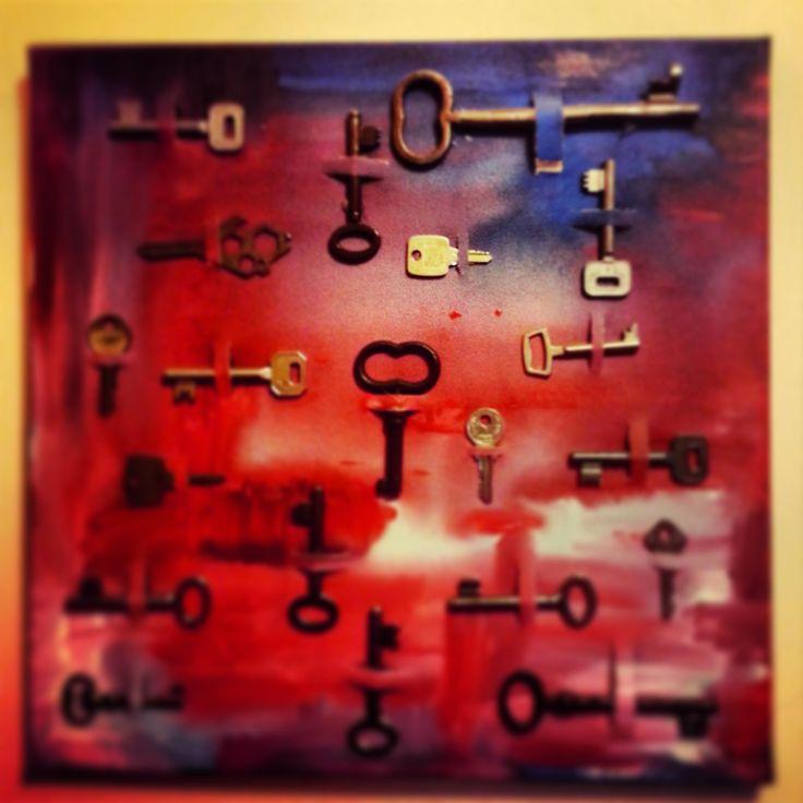 lost keys, acrylic on canvas Kodi 2012