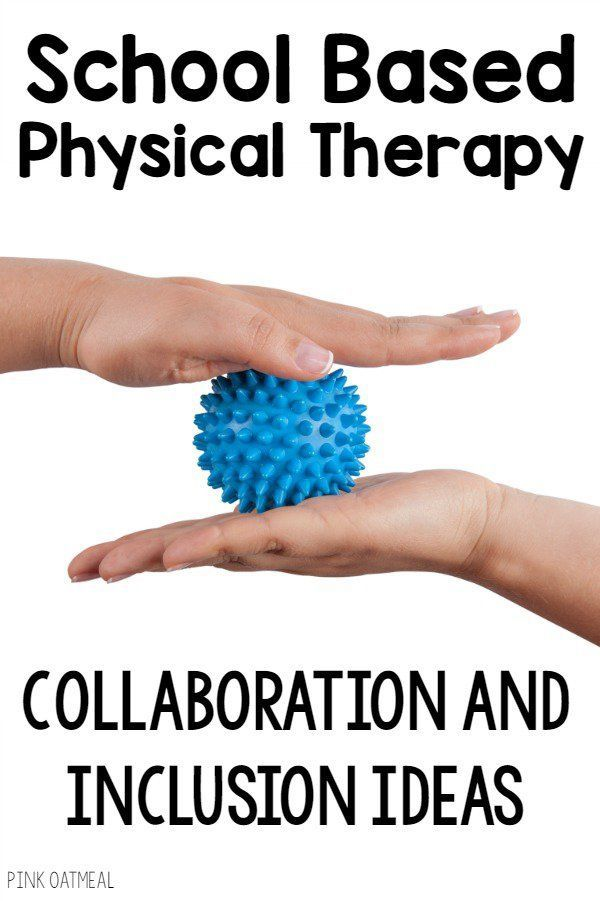Ideas for making your physical therapy sessions in the school a part of the…