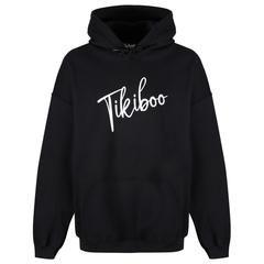 Tikiboo Black Signature Hoodie £29.99 #Activewear #Gymwear #FitnessLeggings #Leggings #Tikiboo #Running #Yoga