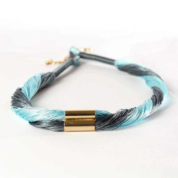 Charm Bracelet - Swirls of Silk by VIDA VIDA rEsuHl