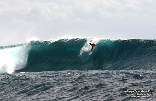 Take off at Jelenga Scar Reef, Eight Islands, Sumbawa, Indonesia http://eightislands.co.id/