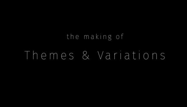 "This is a simple breakdown about the process of making the film ""Themes & Variations"" https://vimeo.com/136114837 by Ziye Liu.  Again, for detail stories and behind the scene of ""Themes & Variations"", please refer to http://blog.ziyeliu.com  ©Ziye Liu, 2015, All Rights Reserved"