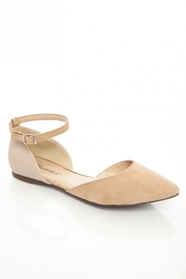 Dolley Flats in Taupe