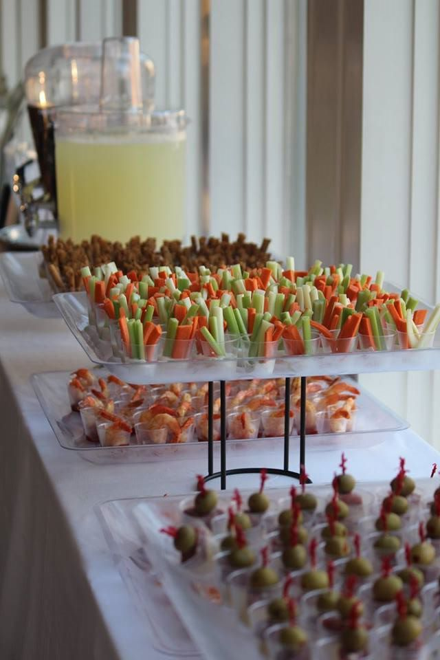 Hors D Oeuvre Shooters Diy Wedding Pinterest Prom And Food