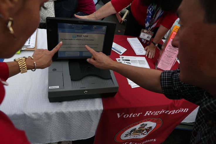 Virginia is replacing some of its electronic voting machines over security concerns