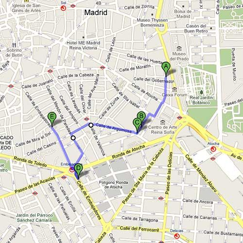 Madrid art gallery walking tour --  Oh yes I want to do this!!