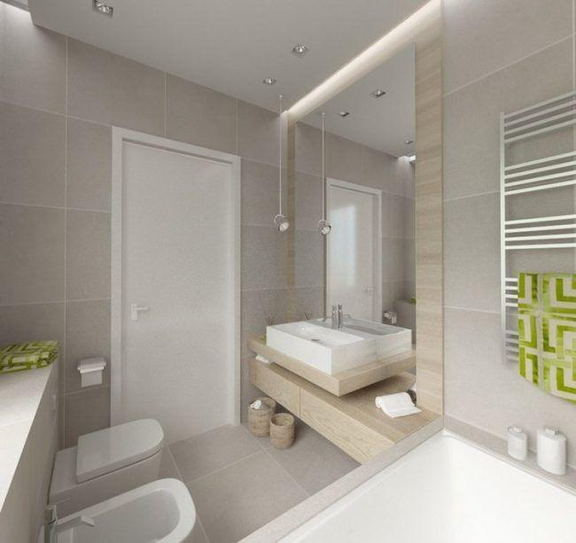 Mit Der Richtigen Gestaltung Und Einigen Details Kann Ein Kleines Bad  Dennoch Zur Wellness Oase. Obwohl Wenig Platz Zur Verfügung Steht, Bedeutet  Das Nicht