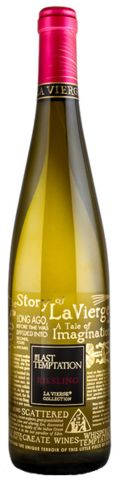 La Vierge Last Temptation Riesling 2011. With a name like this, you may not dare to try it. If you do, expect chiselled melon and terpene perfume. Grapes for this highly textured wine are harvested in the early morning and subsequently crushed with dry ice for maximum flavour and aroma.