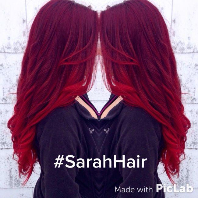 ombr hair avec cheveux rouges 21 photos absolument hallucinantes tendance coiffure - Ombr Hair Maison Sur Cheveux Colors