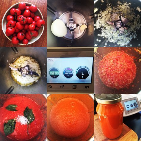 tomato passata #thermomix #recipe by Dani Valent
