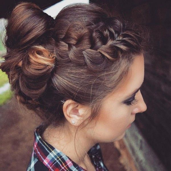Roman Goddess Braided Crown Updo #braidscrown   – braids crown – #Braided #Braid…   – Braid