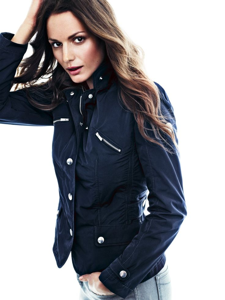 Lecce #Jacket #navy #women #fashion #street #outfit #spring. www.snoot.se