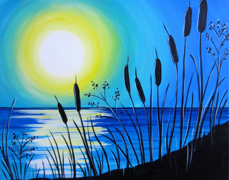 best 25+ sunset painting easy ideas on pinterest | easy pictures
