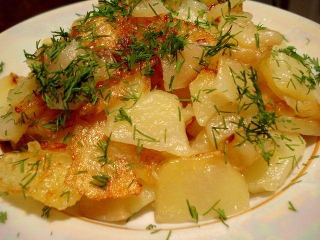 6 секретов приготовления самого вкусного жареного картофеля | Четыре вкуса