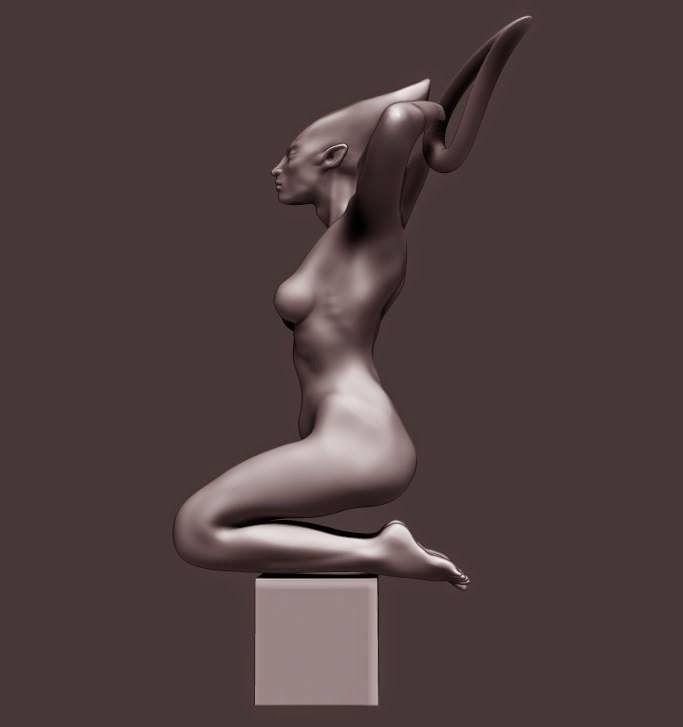 study / speed sculpt