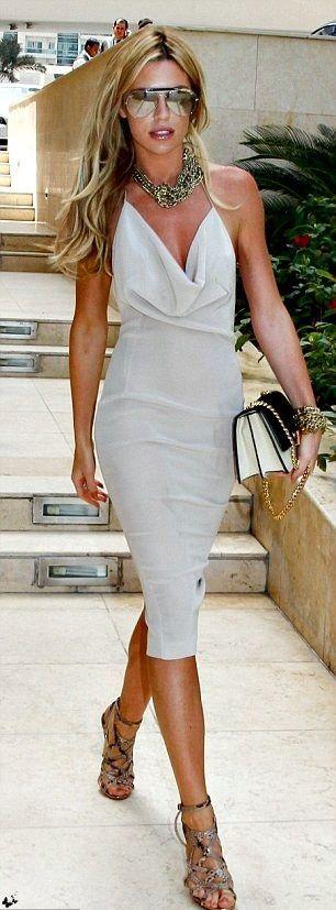 Summer street style / karen cox. All white!