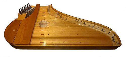 KANTELE.    El kantele es un instrumento de cuerda pulsada tradicional de Finlandia. Es, de hecho, el símbolo musical más importante del país.    Los primeros kanteles estaban compuestos de 5 o 6 cuerdas de crin y una única pieza curvada de madera. En cambio, los actuales instrumentos están formados por cuerdas metálicas (hasta un total de 39) y un cuerpo hecho de varias piezas. Existe también una variante moderna, llamada pequeño kantele, que consta sólo de 15 cuerdas. Ésta se diferencia…