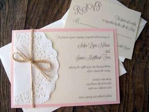 hermosas invitación vintage originales para boda o 15 años